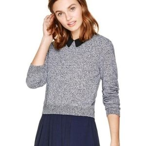 Aritzia Sunday Best Gray Irving Cropped Sweater